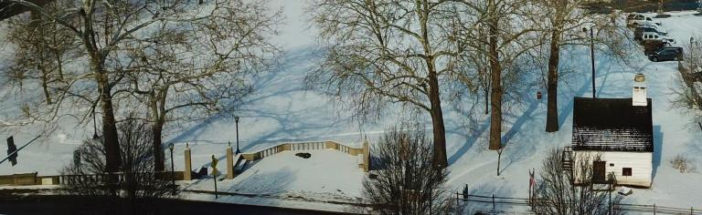 Log House Winter